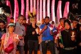 Massa pecinta NKRI gelar doa bersama di Tugu Proklamasi untuk Papua