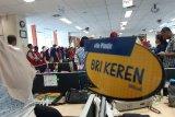 Peserta SMN Sulsel tur ke kantor BRI Jayapura
