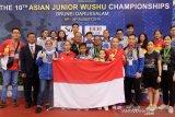 Atlet cilik Indonesia raih medali emas pada kejuaraan Wushu Junior Asia