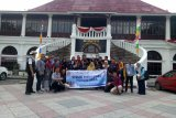 Peserta SMN Kalteng pelajari sejarah  budaya Palembang