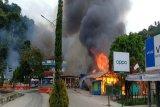 Demonstran bakar fasilitas umum di Fakfak