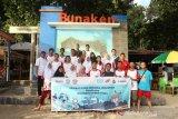 Peserta SMN Jateng kagum keindahan Bunaken