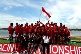 Tim dragon boat Indonesia juara dunia dari Thailand