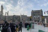 Kepadatan jamaah haji di Masjidil Haram berkurang signifikan