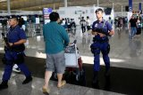 Bandara Hong Kong kembali jadi sasaran pengunjuk rasa