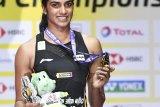 Juara dunia Pusarla Venkata Sindhu  beri bantuan perangi COVID-19