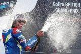 Rins nyaris bikin kesalahan fatal sebelum juara di Silverstone