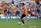 Usai kalahkan Man City, Raul Jimenez yakin Wolves bisa persulit permainan Liverpool