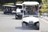 Jokowi ajak Raja Malaysia berkeliling Kebun Raya Bogor