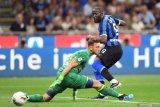 Lukaku cetak gol pertamanya di debut Serie A bersama Inter Milan