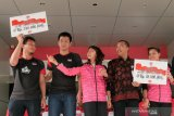 Jawara bulu tangkis Indonesia terima bonus dari Kemenpora setiba dari Swiss