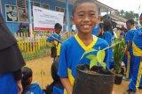 PT Pertamina inisiasi Sekolah Peduli Aliran Sungai di Desa Merbau OKU Selatan