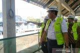 Menko Kemaritiman kunjungi pembangunan Masjid Sriwedari bantuan UEA