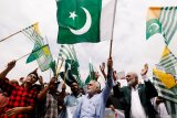 Kelompok bersenjata serbu gedung bursa efek Pakistan