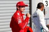 Leclerc raih pole position, duo Ferrari start baris terdepan GP Belgia
