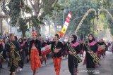 Karnaval budaya di NTB pukau delegasi Asia Pacific Geopark Network