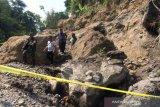 Satu penambang di Lereng Merapi Sleman tewas tertimpa longsoran batu