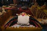 Tradisi larung kepala kerbau