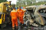 Empat orang korban tewas kecelakaan beruntun Cipularang tak diketahui identitasnya