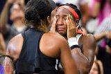 Gauff berurai air mata tersingkir dari Australia Open