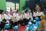 Di PAUD Solo, Iriana Jokowi: Boleh menyanyi tetapi jangan menangis