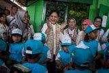 Ibu Negara Iriana Joko Widodo kunjungi PAUD