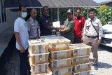 Balai Karantina Bandarlampung gagalkan penyelundupan 1.187 burung kicau