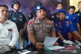 Polisi ringkus dua bajak laut bersenjata api