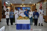 Danlanal Palembang beri penghargaan penangkap