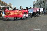 Elemen masyarakat Yogyakarta gelar aksi dukung revisi Undang-Undang KPK