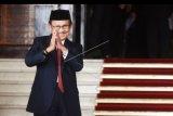 FOTO DOKUMENTASI. Mantan Presiden BJ Habibie menghadiri pembukaan Sidang Tahunan MPR Tahun 2017 di Kompleks Parlemen, Senayan, Jakarta, Rabu (16/8/2017). Sidang tersebut beragendakan penyampaian pidato kenegaraan Presiden Joko Widodo tentang kinerja lembaga-lembaga negara. BJ Habibie meninggal dunia pada usia 83 tahun di RSPAD, Jakarta. ANTARA FOTO/Akbar Nugroho Gumay/nym.