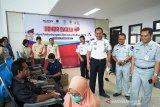 Dinas Perhubungan Riau kumpulkan 60 kantong darah