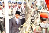 President leads BJ Habibie's state funeral procession