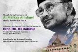 Yayasan Al Markaz Al Islami ajak masyarakat shalat ghaib untuk BJ Habibie
