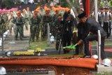 Upacara pemakaman BJ Habibie di Taman Makam Pahlawan Nasional Utama Kalibata