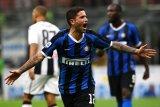 Inter ke posisi puncak usai tundukkan 10 pemain Udinese