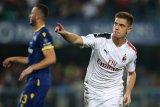 AC Milan tundukkan Verona 1-0  melalui tendangan penalti