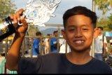 Pebalap cilik asal Lombok Tengah sukses di Kejurnas Dragrace Bhayangkara Cup
