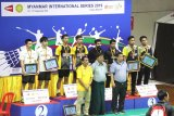 Indonesia gondol dua gelar juara Myanmar International Series 2019