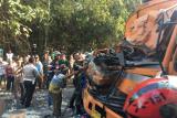 Bus truk adu kambing, delapan penumpang tewas