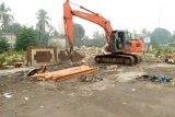 Pasar Pendopo mulai dibangun kembali