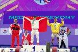 Eko Yuli raih dua perak di Kejuaraan Dunia