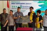 Lenganeng desa pertama menjaminkan pekerja informal dalam APBD Desa