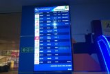 Akibat kabut asap, 33 penerbangan di Pekanbaru dibatalkan