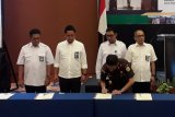 Kajati Sulawesi Utara kerja sama Walpam TP4D dengan empat instansi