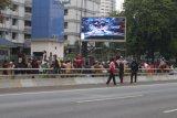 Berseragam Pramuka, ratusan pelajar lempari aparat dengan batu
