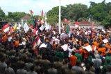 Ribuan mahasiswa OKU demo tolak revisi UU KPK
