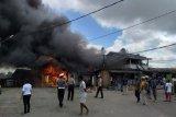 Kebakaran di Tanah Merah Boven Digoel hanguskan kios dan rumah warga