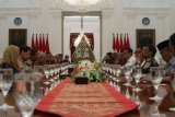 Presiden Joko Widodo : Jangan ragukan komitmen saya kepada demokrasi
