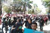 Ikut demo di DPRD Sultra, mahasiswa kritis di Rumah Sakit Bahteramas